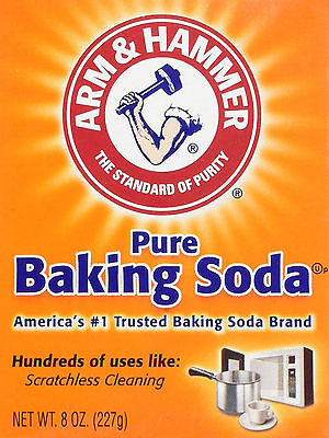 Arm and Hammer Pure Baking Soda Sodium Bicarbonate 227 g Free Fast Postage