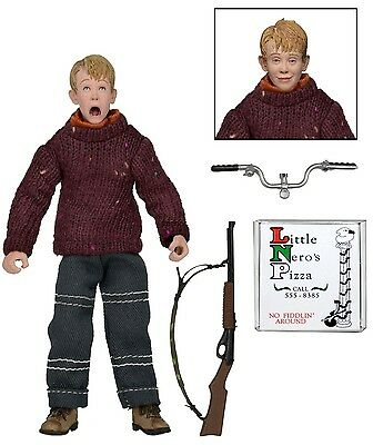 """Home Alone - Retro Style 8"""" Clothed Action Figure - Kevin - NECA"""