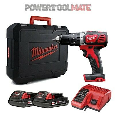 Milwaukee M18BPDKIT 18V Combi Drill Kit 2 x 1.5Ah Batteries & Case M18BPD