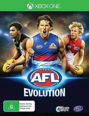 AFL Evolution Xbox One Game New & Sealed Free Express Post In Stock
