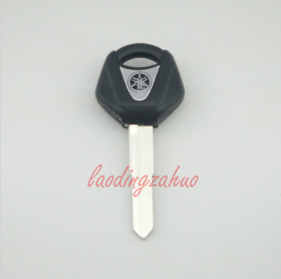 1 Black Blank Key Uncut for Yamaha YZF R1 R6 FZ1 FZ6 600R XJR1300 Motorcycle