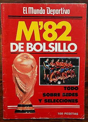 World Cup Spain 1982 pocket guide by El Mundo Deportivo