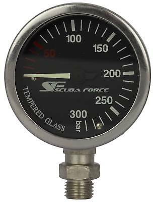 SF-1 TopDeal: Scubaforce Finimeter SPG52 Display SCHWARZ inkl. Swivel O2clean