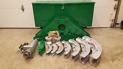 GREENLEE 884 HYDRAULIC PIPE BENDER 1 1/4 to 4 inch RIGID