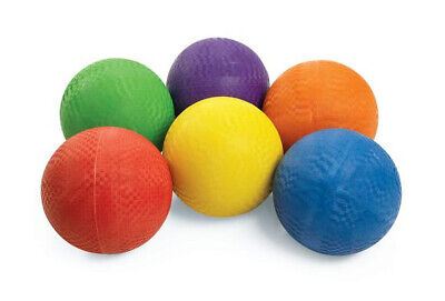 "(Lot of 12X) dodge balls 8.5"" - kick balls Playground ball - bulk wholesale"