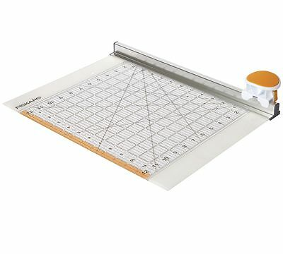 Fiskars Fabric Rotary Cutter and Ruler Combo (45mm) 12 x 12""
