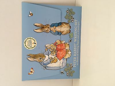 Peter Rabbit Writing Set- 10 SHEETS OF PAPER AND 10 ENVELOPES-REF 03