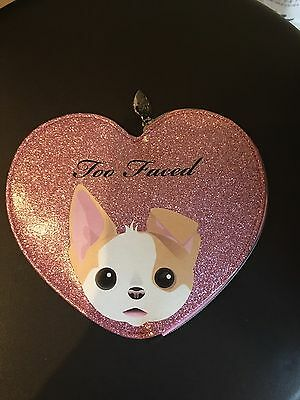 trousse too faced rose paillette
