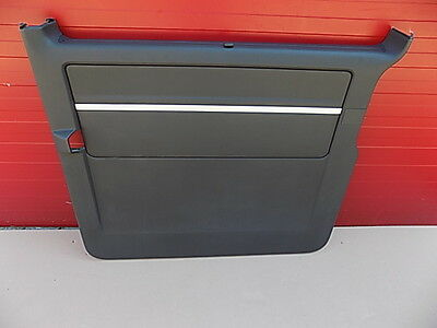 Plastic right sliding door panel VW T5 anthracite leather + top panel