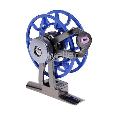 Trout Salmon Sea Fly Fishing Reel Saltwater Freshwater Fly Fishing Tool Blue