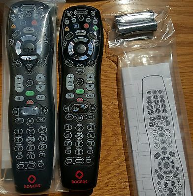 LATEST Brand New Rogers Universal Remote Control Sealed With Batteries