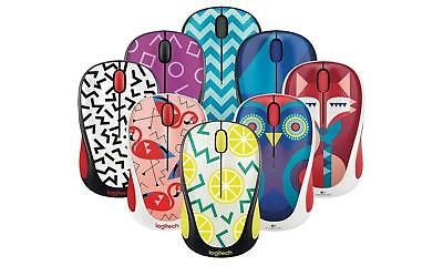 Logitech M317 Wireless Optical Mouse Many New Colors To Choose From M325