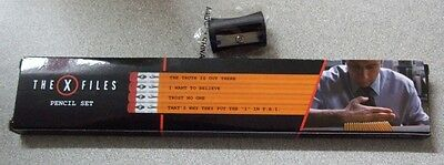 Loot Crate Exclusive The X Files Pencil Set New In Box