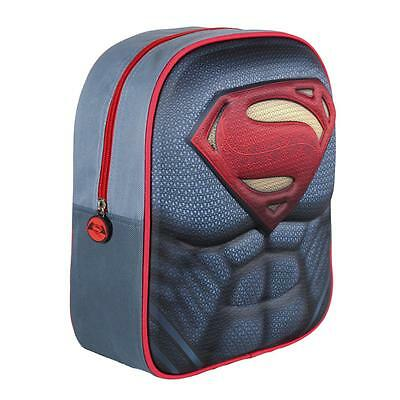 SUPERMAN backpack 3D EVA Amazing 3D Effect UK Stock Licensed Original Product