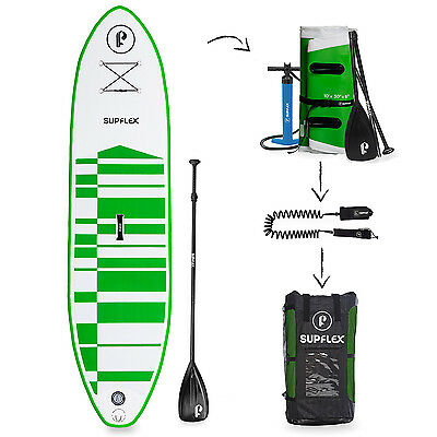 Supflex Board 10ft Inflatable Paddle Board Complete Package