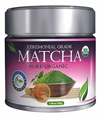 Distinctly Organic Matcha Green Tea - [USDA] Ceremonial Grade Powder