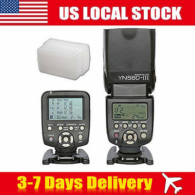 YONGNUO Wireless Trigger Speedlite Light Flash Controller for Canon Cam Vision