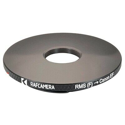 RMS female thread to Canon EOS camera mount adapter