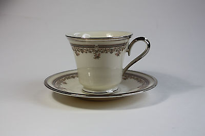 LENOX LACE POINT Cup and Saucer Set(s) - $14.95   PicClick