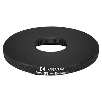 RMS female thread to Sony E-mount camera mount adapter