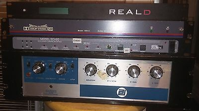 Theatre Equipment (RealD, Dolby Stereo, Cinema Sound Interface Unit)