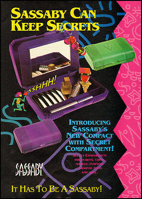 1992 vintage ad for Sassaby Compacts  -051612