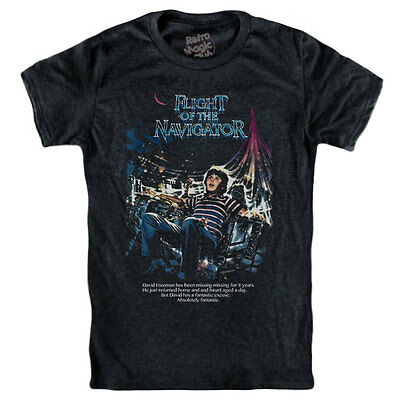 FLIGHT OF THE NAVIGATOR T-shirt Paul Reubens,Joey Cramer,Sarah,Jessica Parker
