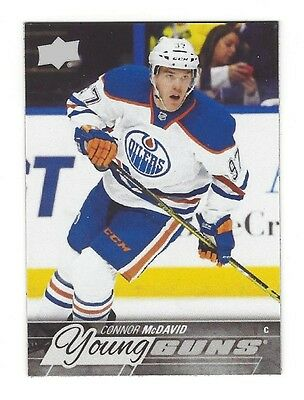 Connor McDavid - Rookie Card Design Fridge Magnet - Oilers