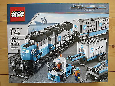 Lego 10219 Maersk Train, new in sealed box