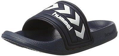 Hummel Larsen Slipper Mocassini Unisex Adulto Nero Black 44 EU z7R
