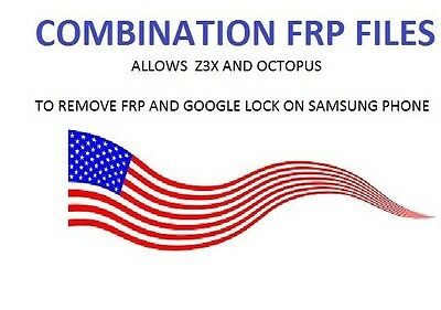 FRP Combination File for any Samsung phone remove FRP and Google account galaxy