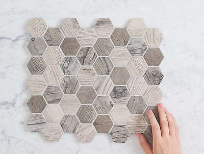 Mollymook Hexagon Matt Mosaic Tile
