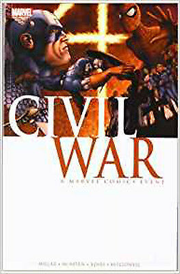 Civil War TPB (Graphic Novel Pb), Mark Millar, Excellent Book