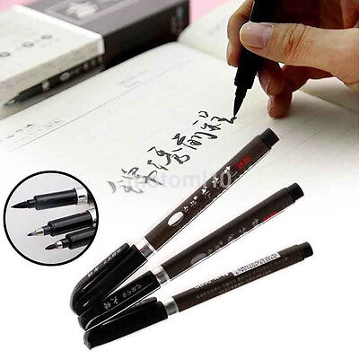 Students Practicing Brush Pen Books Calligraphy Wedding Sign Markers Supplies