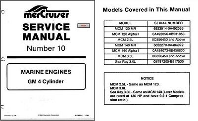 1990 mercruiser 7 marine engines gm v 6 v6 cylinder service manual rh picclick com Mercruiser 140 Diagram 140 Mercruiser Engine Specs