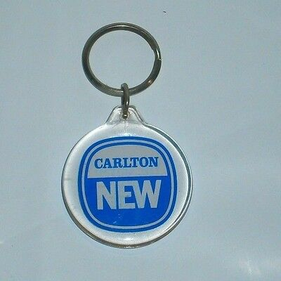 """Original Carlton New Beer """"The Great New Taste"""" Keyring For collector, bar Rare"""