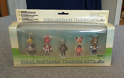 Square Enix Final Fantasy III 3 Trading Arts Mini 5 Figure Set
