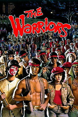 """007 The Warriors - Michael Beck Crime Action Classic Movie 14""""x21"""" Poster"""