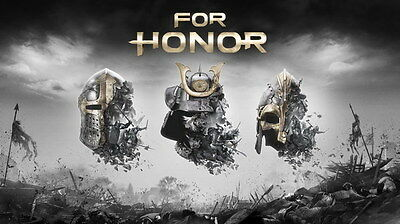 "003 FOR HONOR - Medieval War Action Fight Game 24""x14"" Poster"