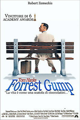 "003 FORREST GUMP - Tom Hanks Classic USA Movie 14""x21"" Poster"