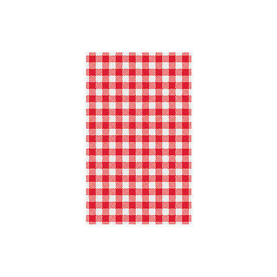 200 Sheets X Greaseproof Paper Gingham Red 200x300mm
