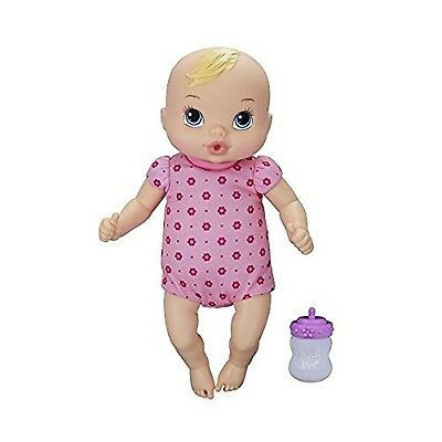 Baby Alive Luv 'n Snuggle Baby Doll Blonde New