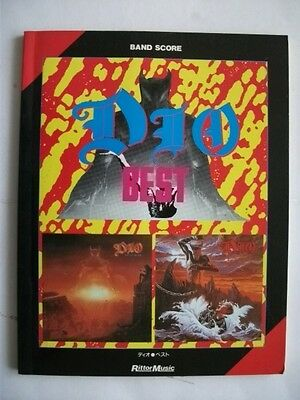 DIO BEST JAPAN BAND SCORE GUITAR TAB Vivian Campbell