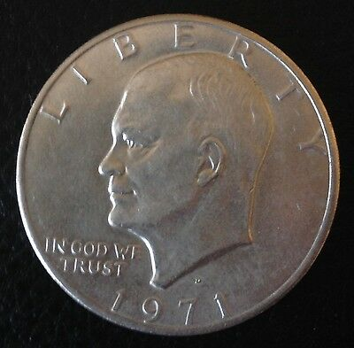 1971 D US Dollar USA United States Coin