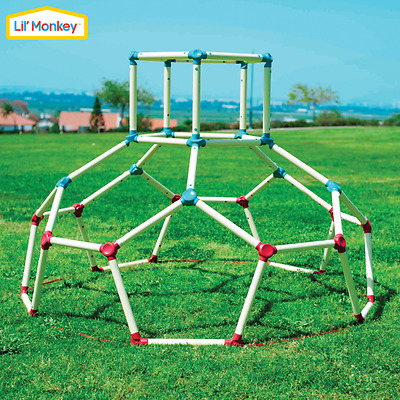 Dome-Shaped Climbing Frame - Lil Monkey Dome Climber - White - TP Toys - Mookie