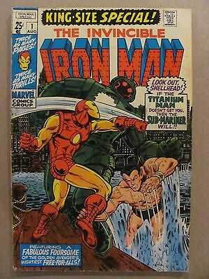 Iron Man King Size Special #1 Marvel Comics 1970