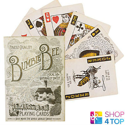 Ellusionist Bumblebee Playing Cards Deck Magic Bicycle Tricks Bee Uspcc Usa New