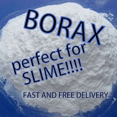 Borax-SLIME ACTIVATOR-Perfect for SLIME 200g FAST& FREE DELIVERY!!!!!