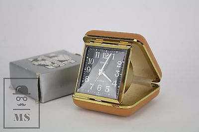 Vintage Europa - Uhren 25 Jewels Travel Alarm Table Clock - Made in Germany