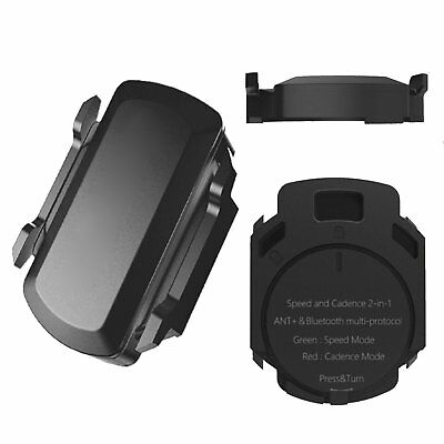Speed & Cadence Sensor Support ANT+ & Bluetooth Smart Devices for Garmin Bryton